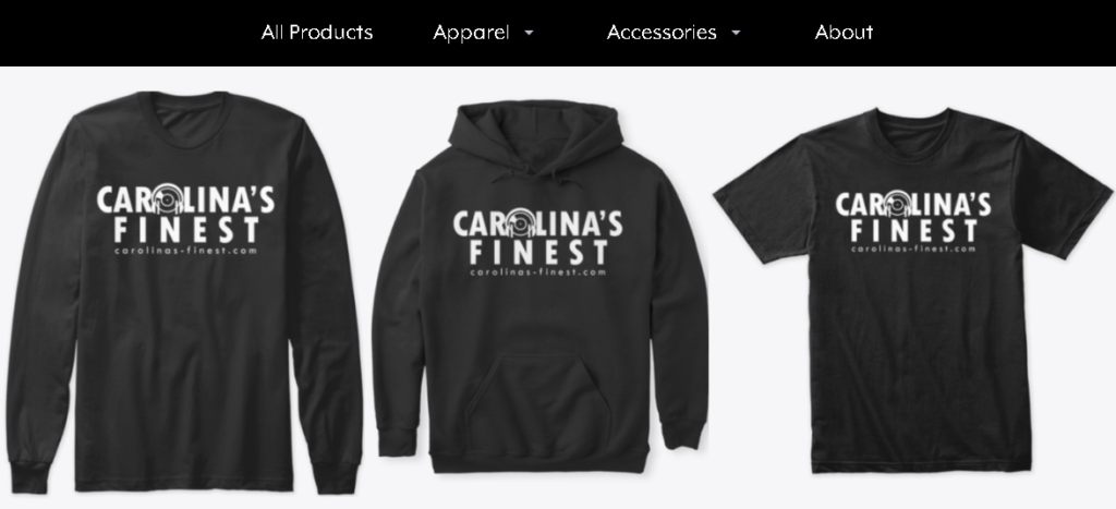 Carolina's Finest Merchandise