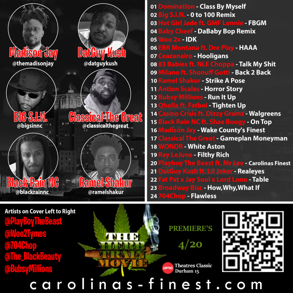 Carolina's Finest Vol. 3 Back Cover