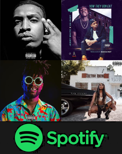 Carolina's Finest Spotify Playlist!